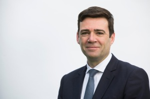 Andy Burnham MP, pictured at his home in his Leigh constituency. Andy was running to be leader of the Labour Party, one of five candidates battling to succeed Ed Miliband, who stood down after the 2015 UK General Election. Burnham was at the time Shadow Secretary of State for Health in England.